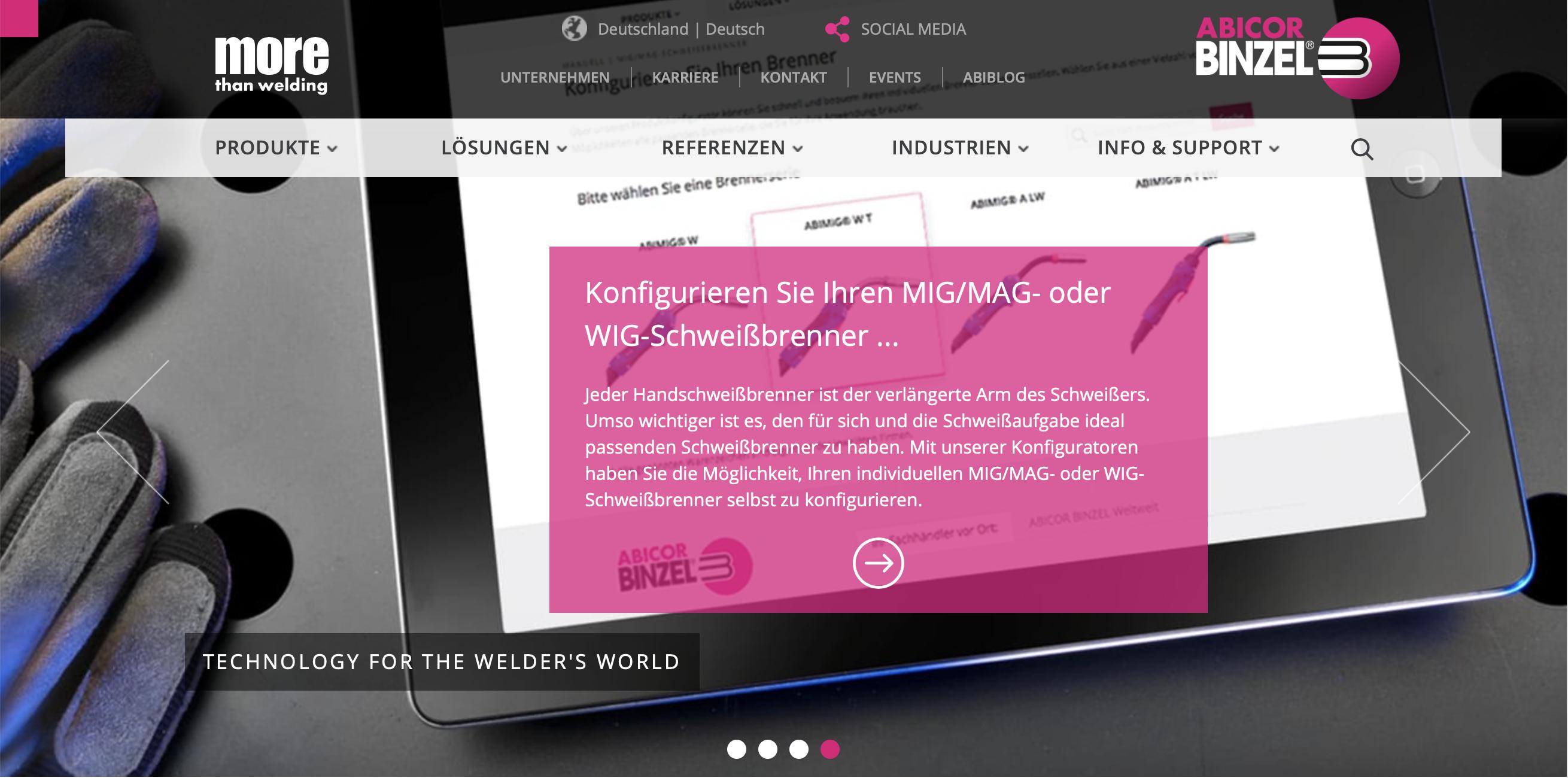 Website_frontpage_DE